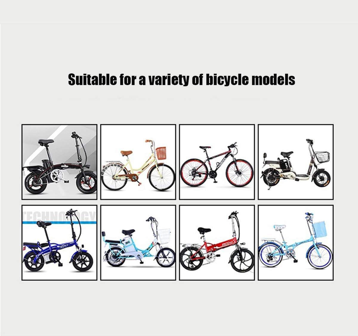 Saturey Asiento De Bicicleta Delantero para Ni/ños Asiento De Ni/ño Bicicleta Desmontable Bicicleta Asiento De Ni/ño Delantero con Pedal Y Asa Bicicleta De Monta/ña Asiento De Ni/ño Teniendo 40 Kg