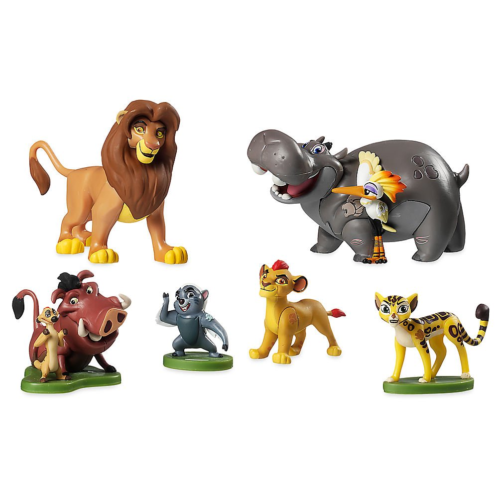 Amazon.com: Disney The Lion Guard Figure Play Set: Toys & Games