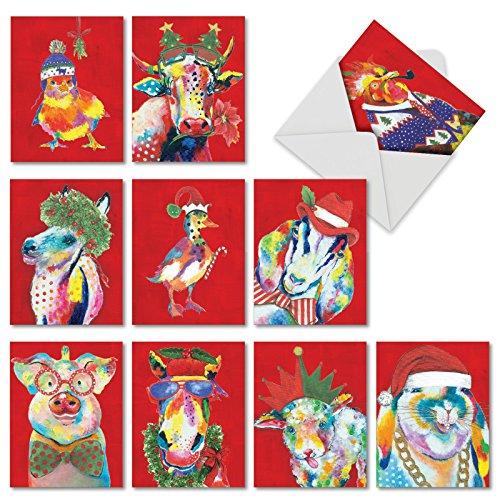 Art Blank Assortment Horse Cards - 9