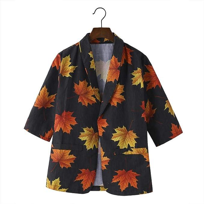KangCat Women Cardigan Sweater Coat Open Front Leopard Print Blazer Outwear Coat Jacket Cardigan Tops