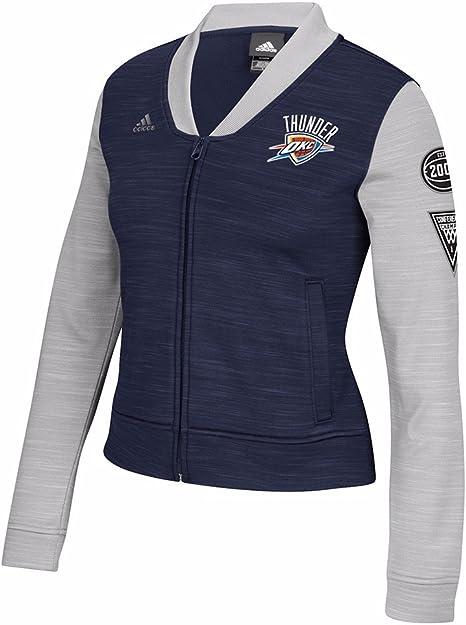 adidas Oklahoma City Thunder NBA Azul Marino Chaqueta de Pista ...