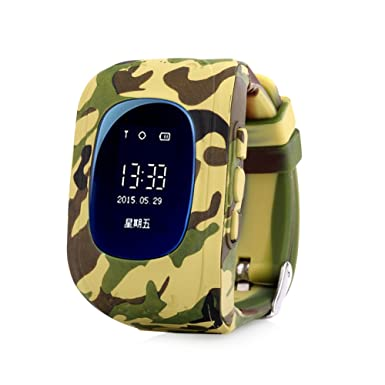 Reloj de pulsera reloj inteligente relojes relojes para niños GPS niño Finder Localizador Tracker Monitor de