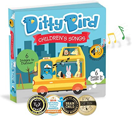 MEMA ENTERPRISE PTY LTD Toys for 1 year old boy gifts Musical Educational Toddler Toys OUR BEST INTERACTIVE LEARNING SONGS BOOK for BABIES and PRESCHOOLERS Sing-Along Board Books for one year old 1 year old girl gifts