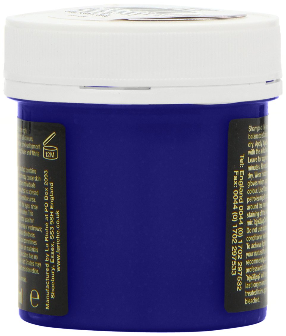 directions hair colour lagoon blue 88ml tub amazonfr beaut et parfum - Coloration Semi Permanente Bleu