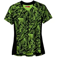 TERRY 2013 Women's Touring Cycling Jersey - 630122 (Spokes/Neon)