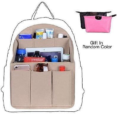 3ebfc564ba53 Amazon.com  Felt Backpack Organizer Insert