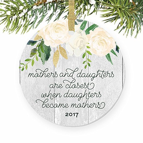 Christmas Ornament Crafts Mothers Daughters Gift For Mom