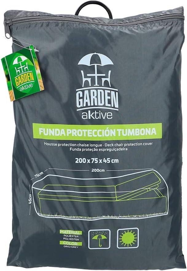 Aktive 61503 - Funda protectora para tumbona 200x75x45 cm Garden