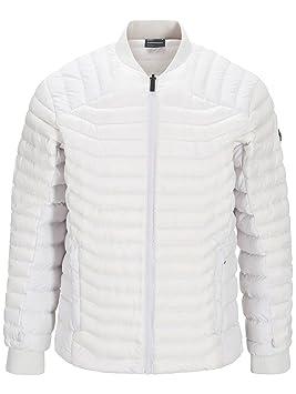 Peak Performance – Chaqueta de snowboard Supreme attelas Jacket, color blanco perla, tamaño 48