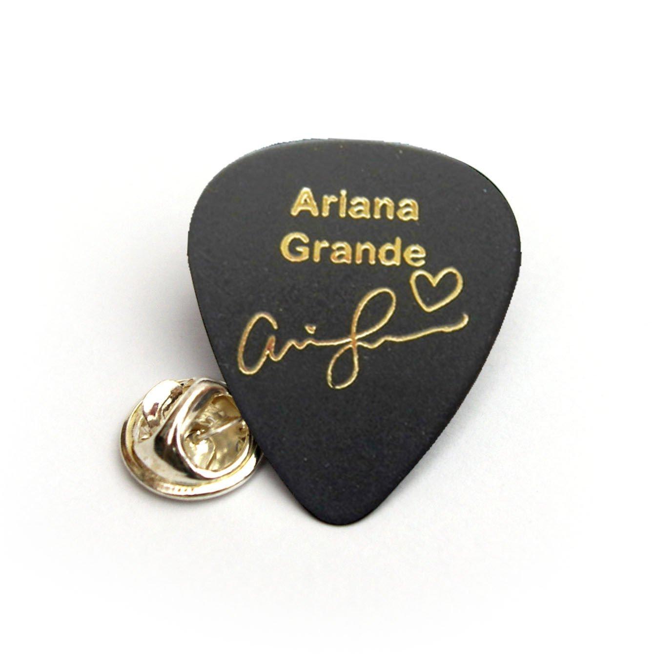Ariana Grande Firma púa de guitarra Plectrum llavero pulsera ...