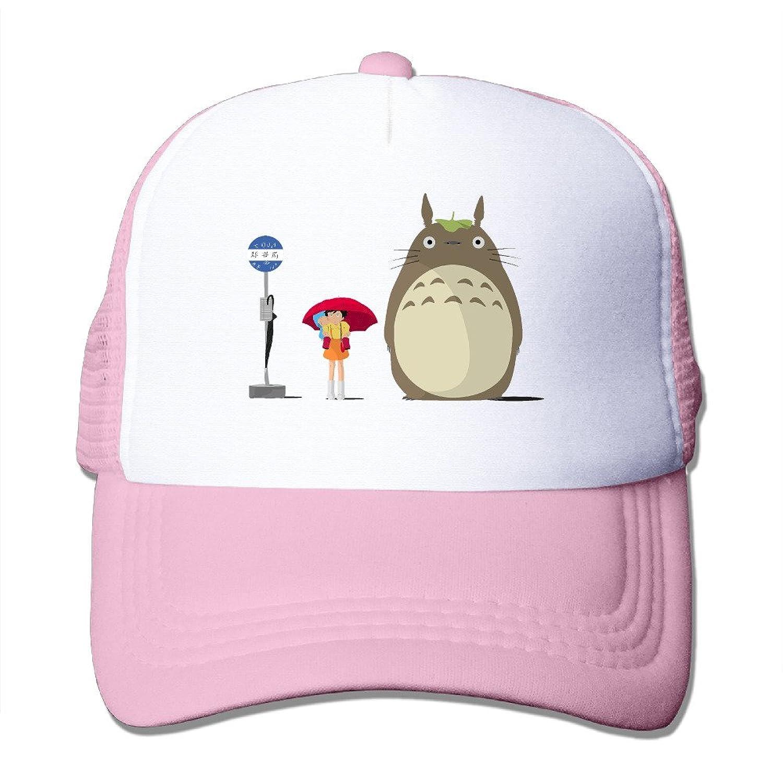 HotBB Unisex Cute Totoro Classic Mesh Back Trucker Cap Hats