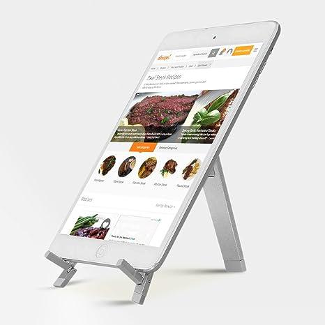 Leggio da cucina portatile tablet Supporto per iPad, iPad Mini ...