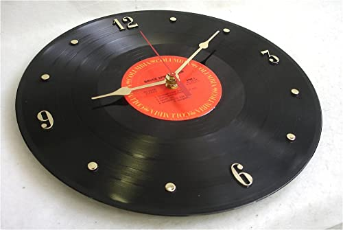 IT S OUR EARTH Vinyl Record Clock Hand Made Using a Bruce Springsteen Record