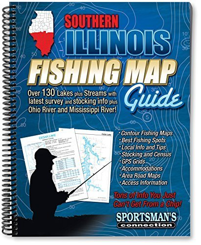 Southern Illinois Fishing Map Guide by Sportsman