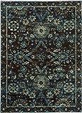 "Cheap Oriental Weavers 7124A-2×3 Andorra 7124A X 3′ 2″ Indoor Area Rug, 1'10"" x 3′ 2″"