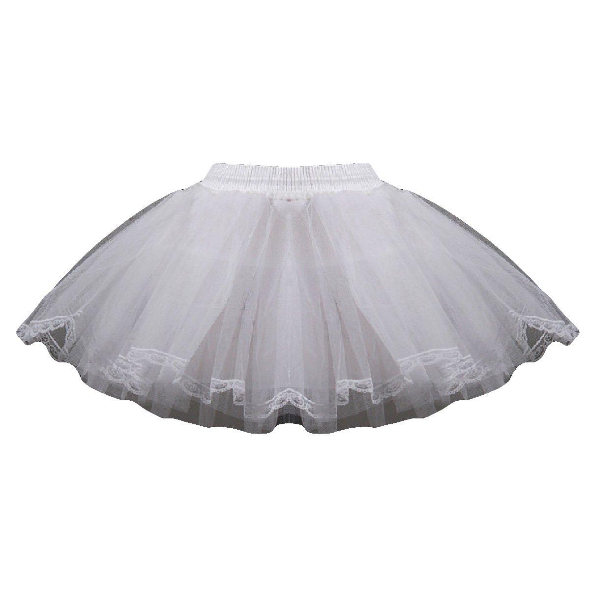 AliceHouse 3Tier Flower Girl Crinoline Tutu Skirt Petticoat Ball Underskirt MPC022