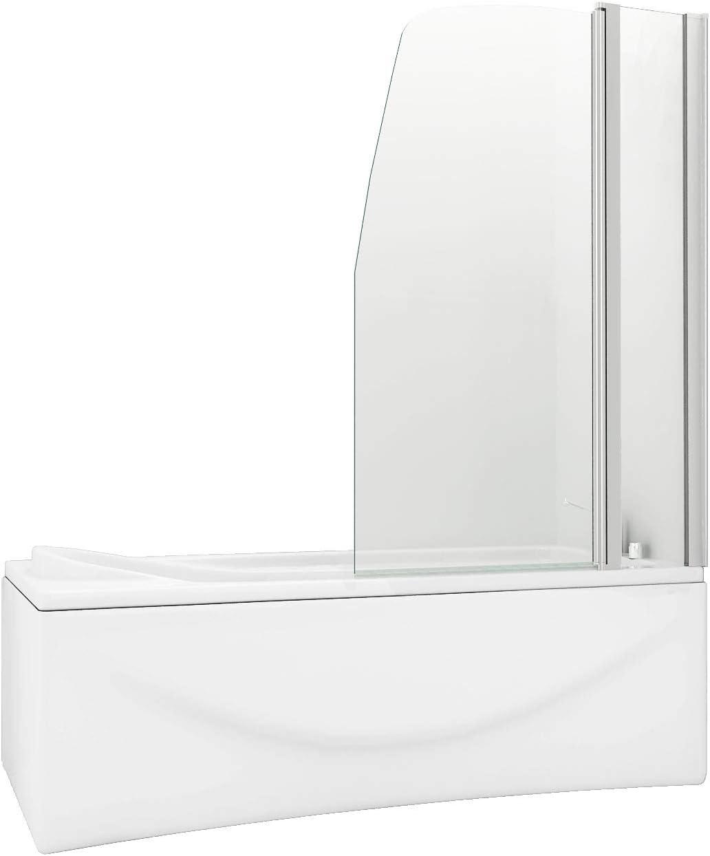 HNNHOME 180 ° Pivote Panel Doble de Estilo Vela más de baño Ducha ...