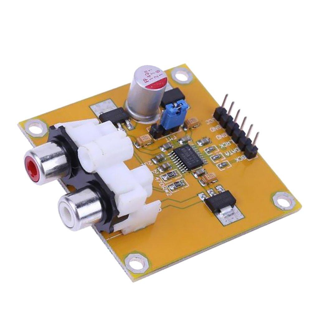 Sharplace DAC Decoder PCM5102 Analoge I2S 32bit 384K Decoder Board Modus Konvertierung Chip (DAC) fü r Alle DIY-Projekte