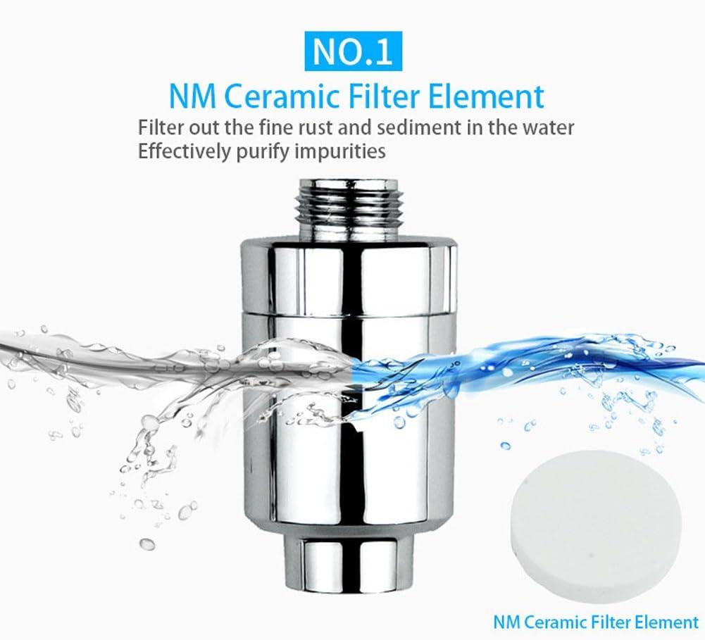 Lionina - Filtro de ducha universal de alta salida para ...