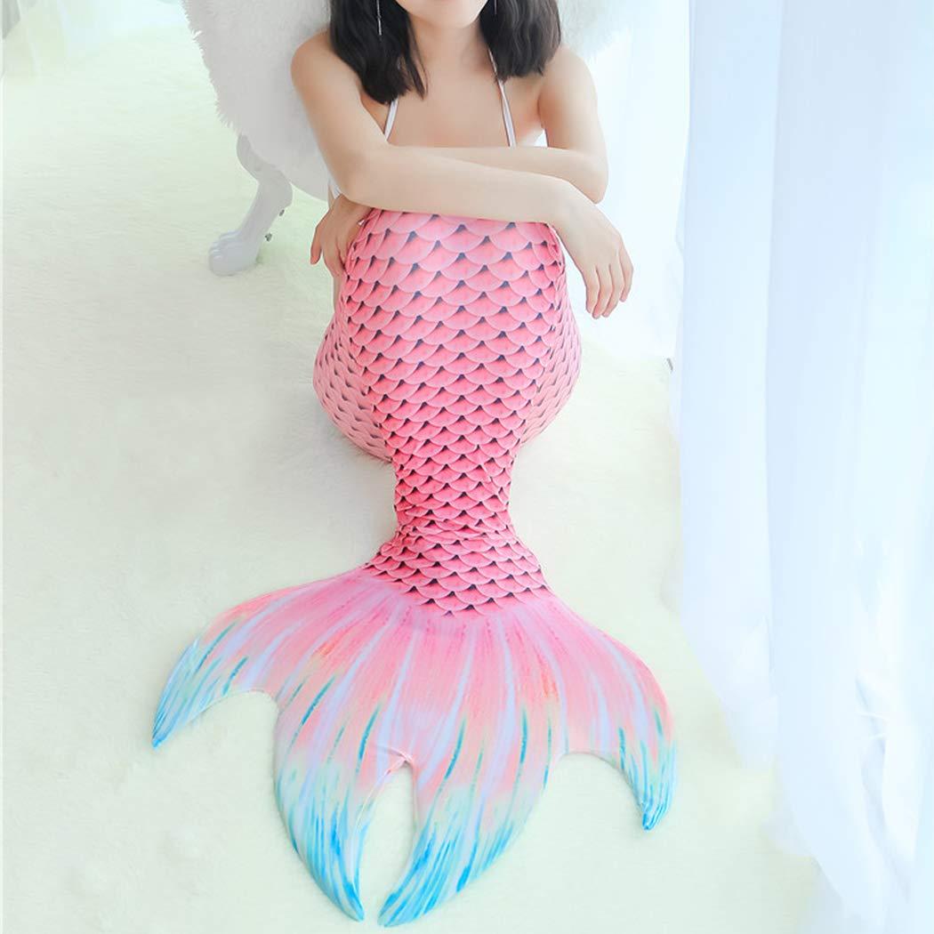 SPEEDEVE M/ädchen Meerjungfrauen Schwimmanzug Meerjungfrau Flosse Zum Schwimmen