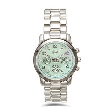 Yaki Trend Mujer Reloj De Pulsera marcas Relojes analógico de cuarzo reloj mujer reloj 82433 de W: Amazon.es: Hogar