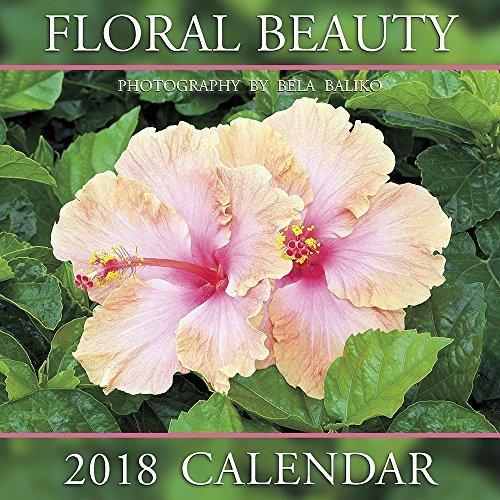 2018 Floral Beauty Wall Calendar