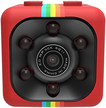 Opinión sobre WEIHUIMEI SQ11 1080P Mini Cámara, Cámara Deportiva Cámara HD Videocámara Nocturna Miniatura, Cámara Oculta Miniatura