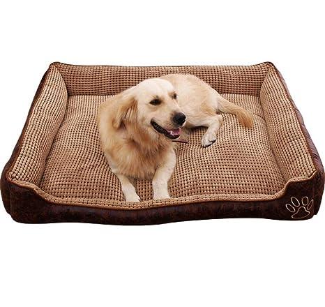 XHCP Perrera Extraíble Y Lavable Suministros para Mascotas Colchoneta para Perro Mascota Cama Exterior para Mascotas