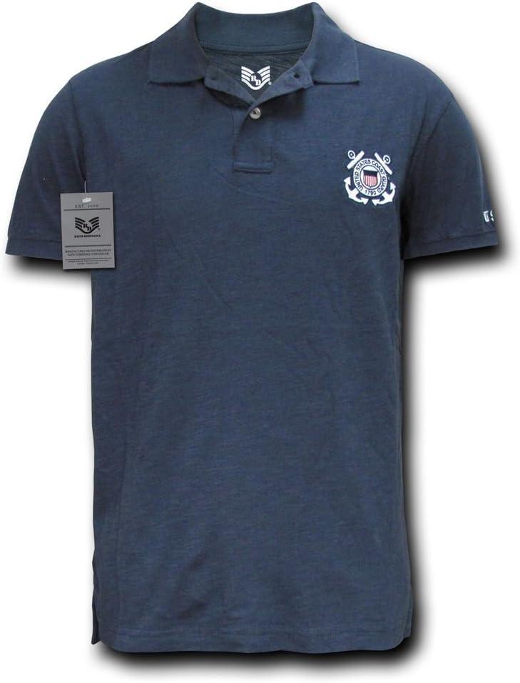 Rapiddominance Coast Guard Military Polo Shirt