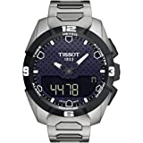 Tissot T Touch Expert Watch for Men - Analog-Digital Stainless Steel Band - T0914204405100