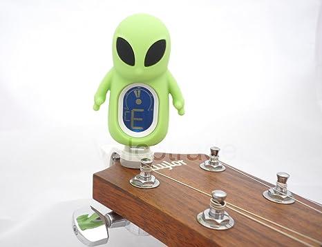 Swift- Afinador de guitarra con pinza de Alien. Afinador de pinza ...