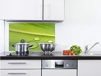 GRAZDesign 200103_80x50_SP Spritzschutz Glas für Küche/Herd   Bild ...
