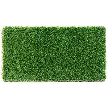 amazon com large grass door mat rug with smartdrain technology