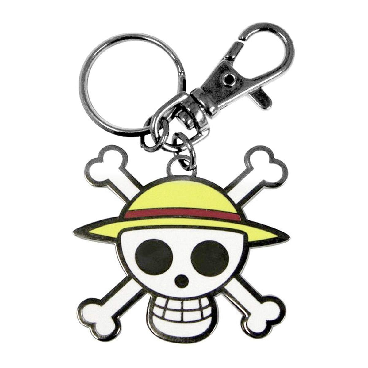 Amazon.com: Close Up One Piece Keyring - Skull-Luffy ...