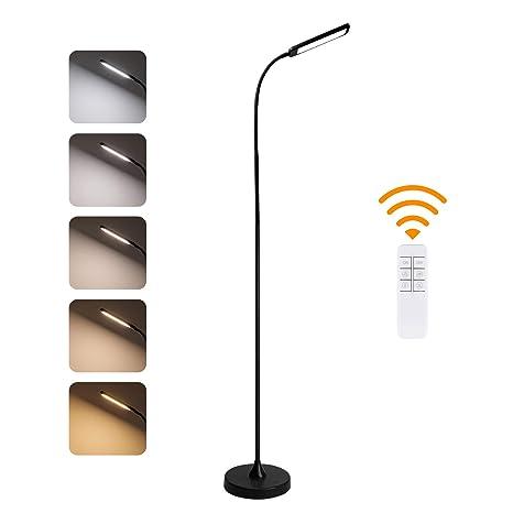 Amazon.com: KEDSUM Lámpara de pie de 12 W regulable LED con ...