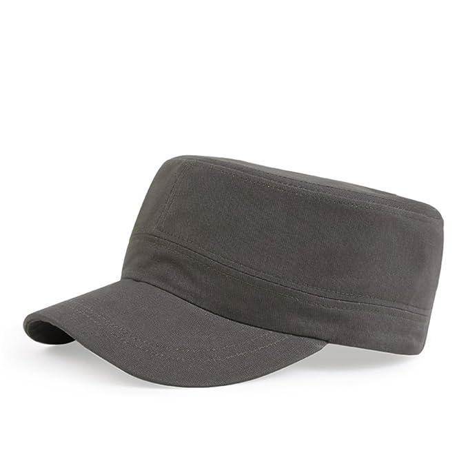 Gorras planas/Sombreros al aire libre de los hombres/Casquillo del ocio/Versión coreana de este deporte Cap/Sombreros de pareja/sombrero de la juventud-A ...
