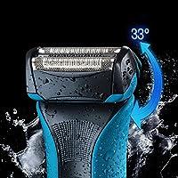 Braun WaterFlex WF2S - Afeitadora eléctrica con tecnología Wet & Dry, color azul: Amazon.es: Salud y cuidado personal