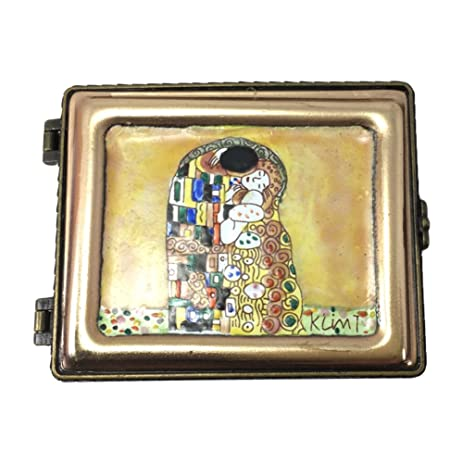 Klimt Miniature Jewelry Box By Kelvin Chen, The Kiss, Handmade And  Enamelled, 3u0026quot