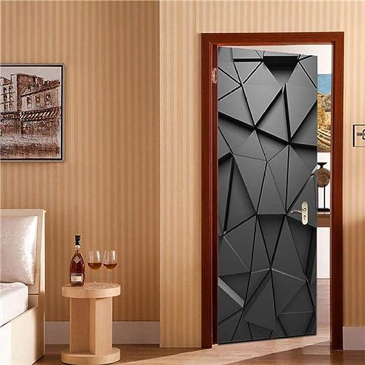 LHejmo Pegatinas de decoración de Puerta 3D Pegatinas de Plataforma de Londres en Las Puertas DIY Renovar Papel Tapiz Impermeable Arte Home Mural Posters-DZMT085_90x200cm: Amazon.es: Hogar