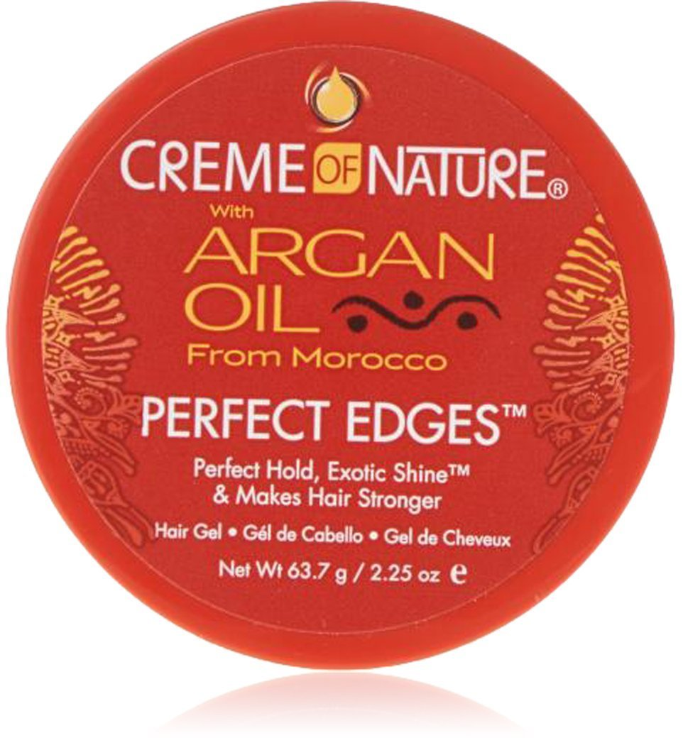 Creme of Nature Argan Oil Perfect Edges Control 2.25 oz. Jar (3 Pack)