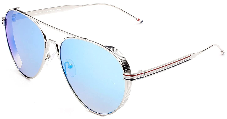 "44f595178a51 Amazon.com: PRIVÉ REVAUX ICON Collection ""The G.O.A.T"" Designer Polarized Aviator  Sunglasses: Clothing"