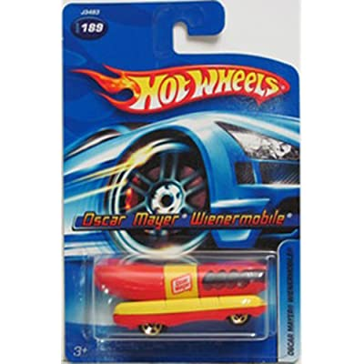 Hot Wheels Oscar Mayer Weinermobile 2006 1:64 Scale Collectible Die Cast Metal Toy Car Model #189: Toys & Games