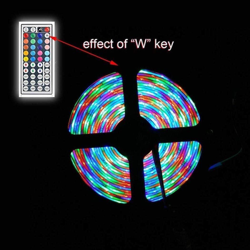 GoodKE RGB LED Strip Flexible Light 44-Key Infrared Remote Control LED Bulbs