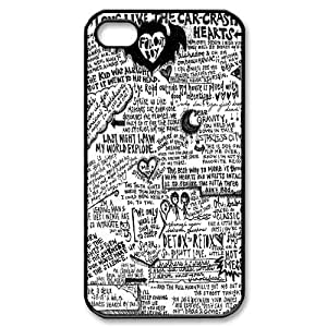 T-TGL(RQ) Unique Design Fall out boy Pattern Protective Cell Phone Case for Iphone 4/4S