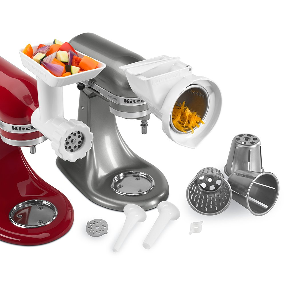 KGSSA KitchenAid Stand Mixer Attachment Pack: Amazon.co.uk: Kitchen ...