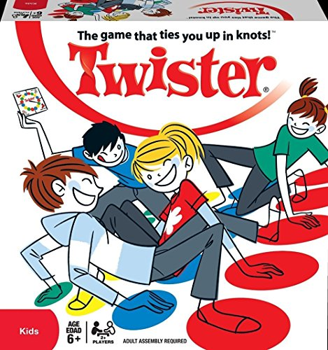 [Babrit Twister Game Floor Game Activities Play Center Funny Game for All Ages] (Twister Game Costumes)