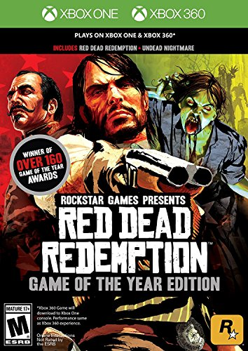 Xbox 360 Red Dead Redemption Goty (Red Dead Game Of The Year Edition)