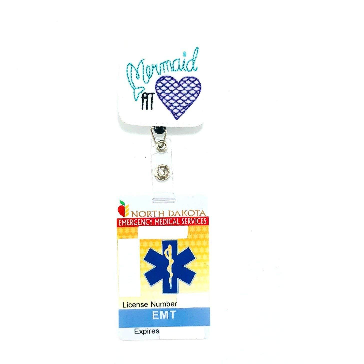 Mermaid at Heart Badge Reel - blog transfermyauto com