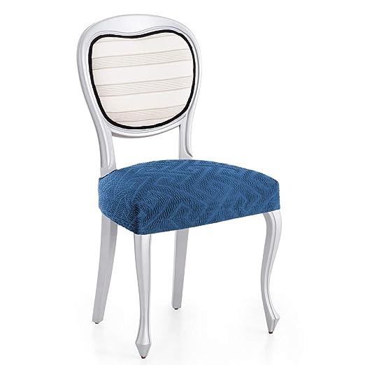 Innovaciones Roser Pack de Fundas de Asiento para Silla Modelo Rosario, Color Azul, Medida 2 Unidades, Asiento 40-50cm