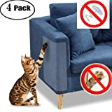 "JCW Cat Scratch Guard Furniture Protector - Four Guards Per Package - (18.5"" L x 5.9"" W) - Best Protection from Pets Scratching - Love Your Furniture and Your Cat!"